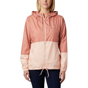 Columbia Flash Forward Windbreaker Jas Dames, cedar blush/peach cloud